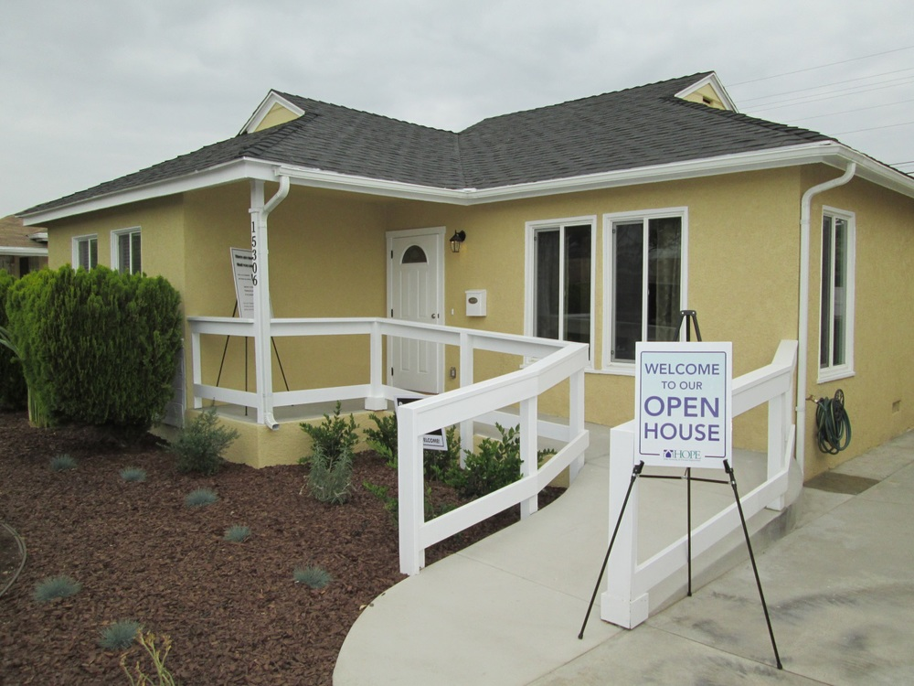 HOPE celebrates the completion of a third affordable home in Norwalk.