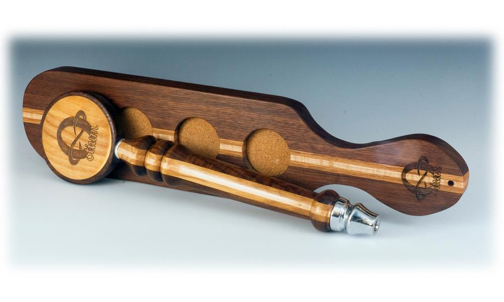 Walnut, Maple, Oak tap handle and flight paddls