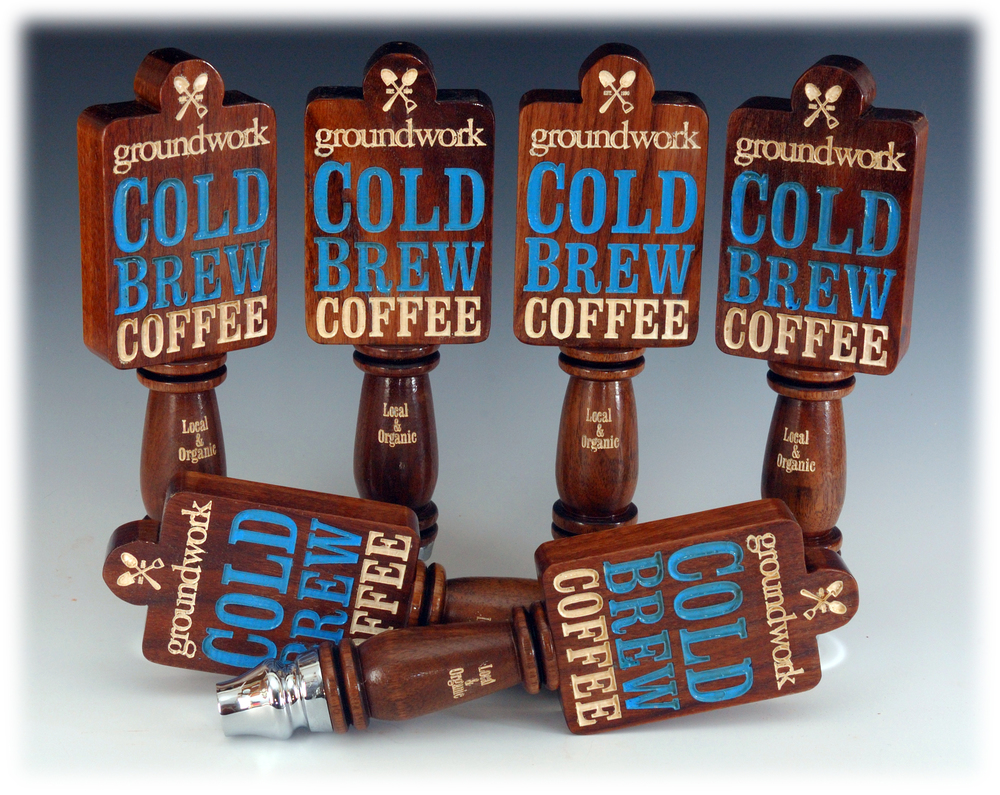 groundwork coffee tap handles