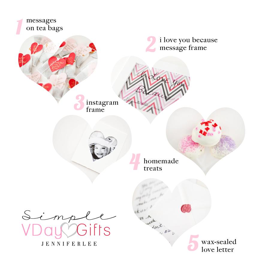 5 DIY Valentine Gifts www.jleeblog.com