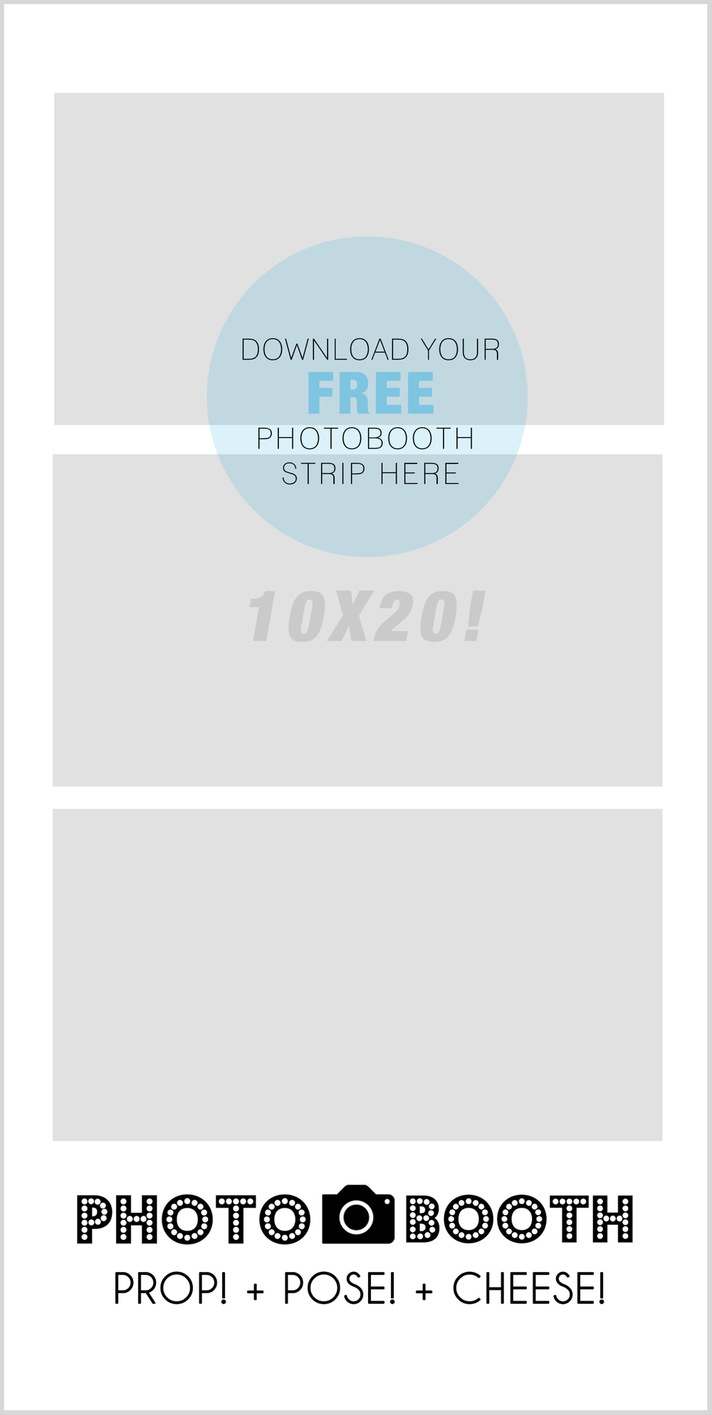 how to create your own blog template - diy photo booth painting party post 05 jenniferlee