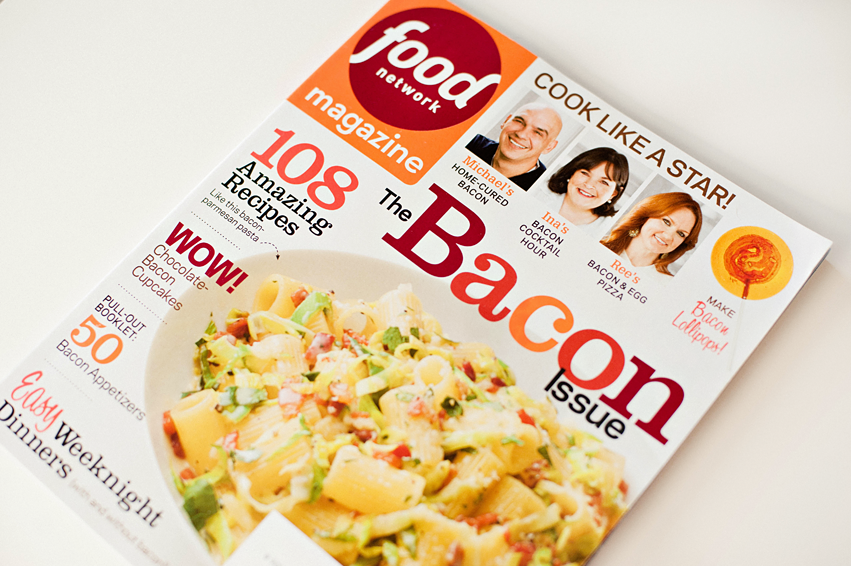 Food Network March 2014 Bacon Issue!