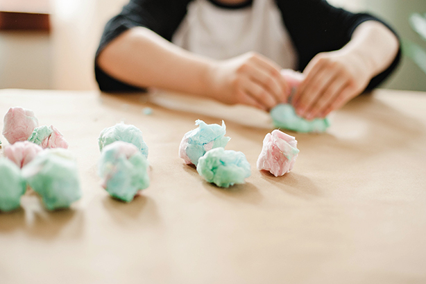 DIY Easter Bunny Tails