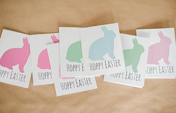 DIY Hoppy Easter Cards