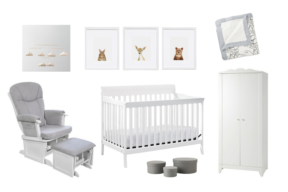 Grey & White Neutral Nursery
