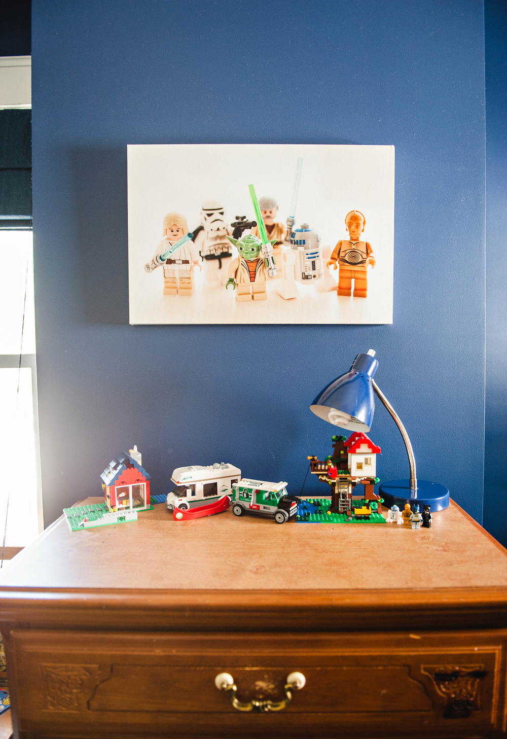 DIY Lego Start Wars Canvas