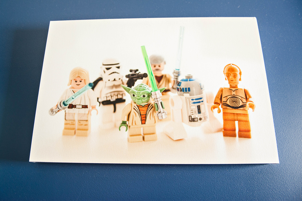 DIY Lego Start Wars Canvas for Kids Room