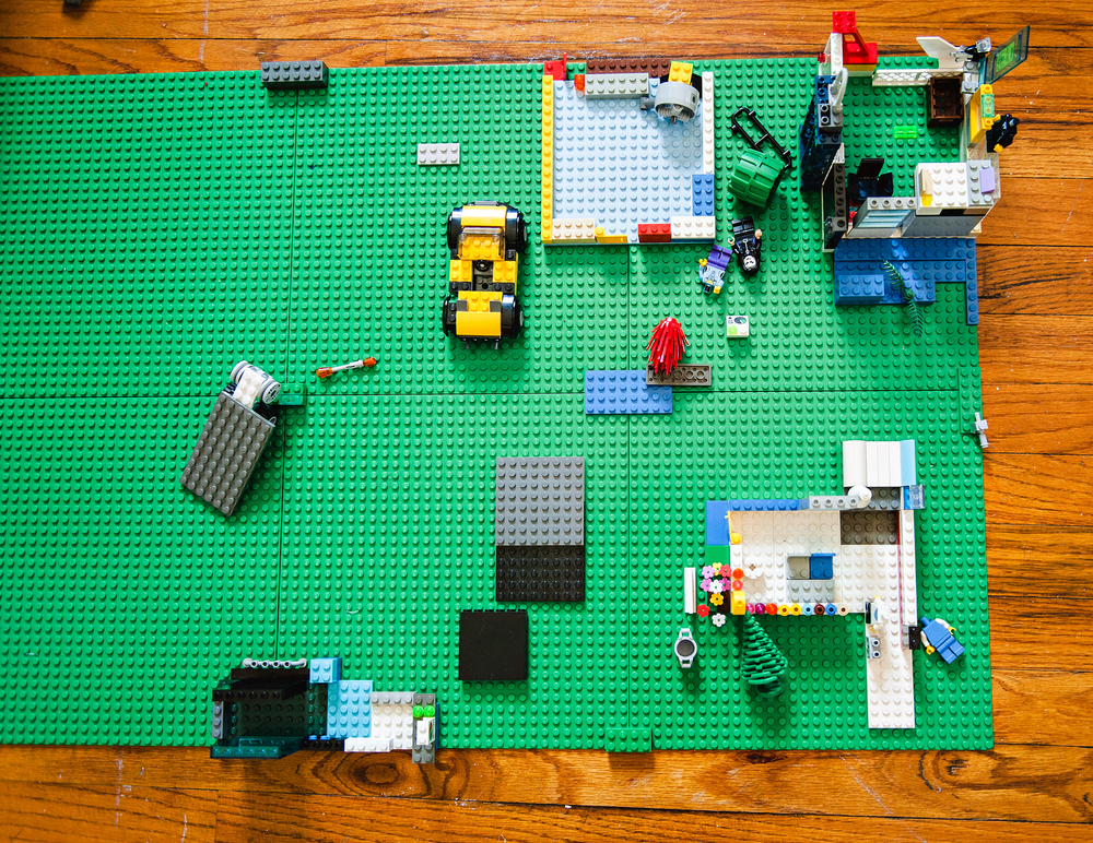 DIY Lego Canvas Project
