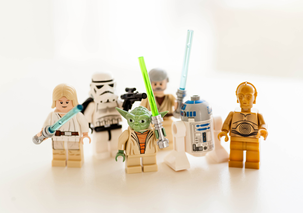 DIY Canvas Lego Star Wars