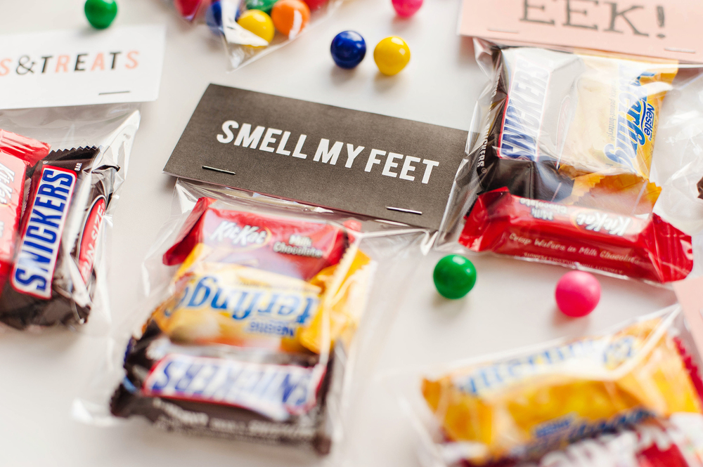 Free Download Halloween Treat Bag Toppers