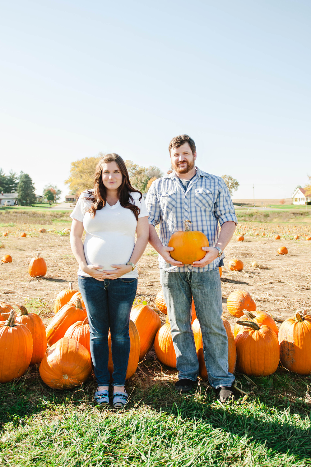 Mill Creek Farm Quincy, IL Maternity Photos