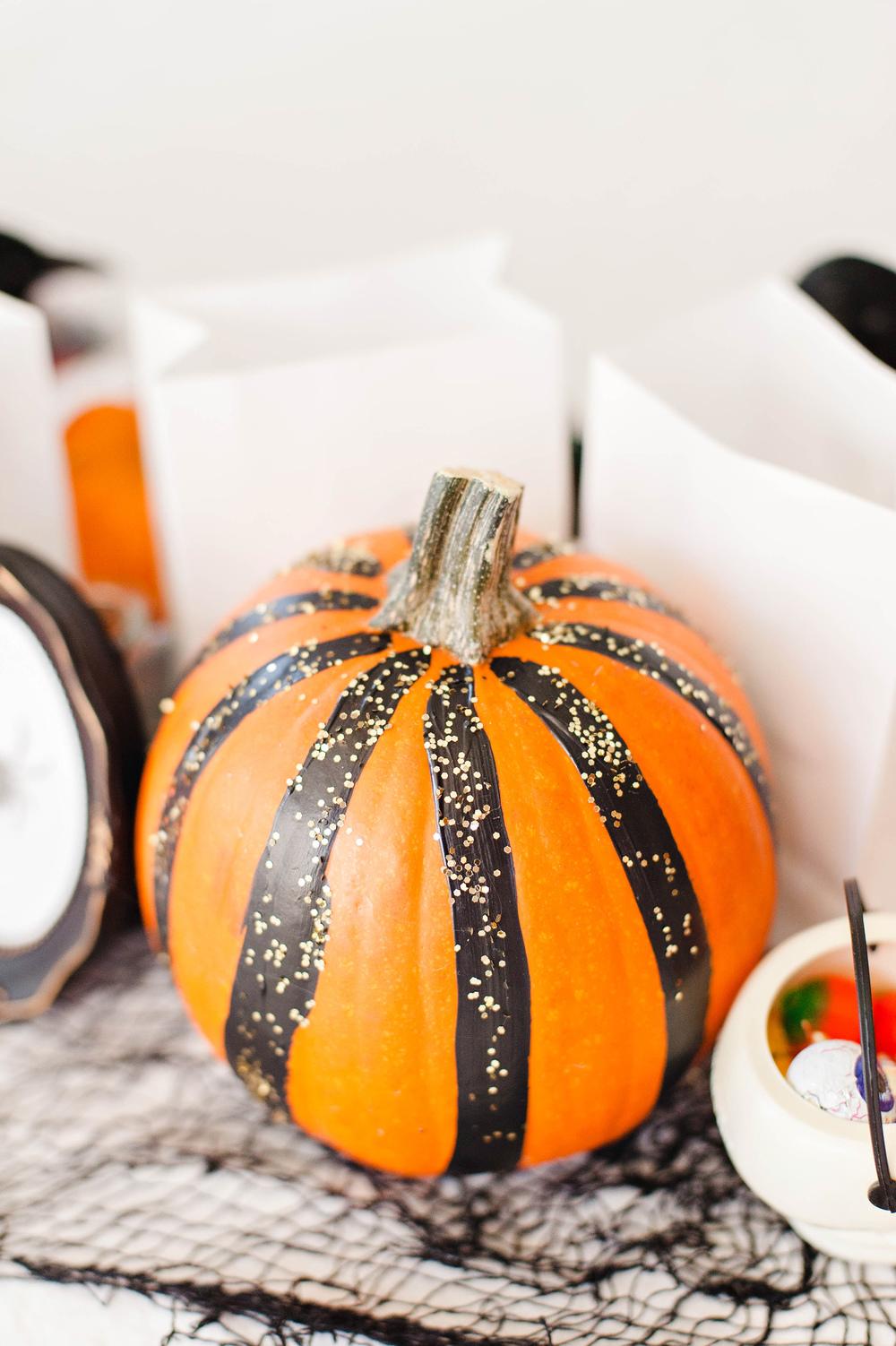 FUN Halloween Painted Pumpkins