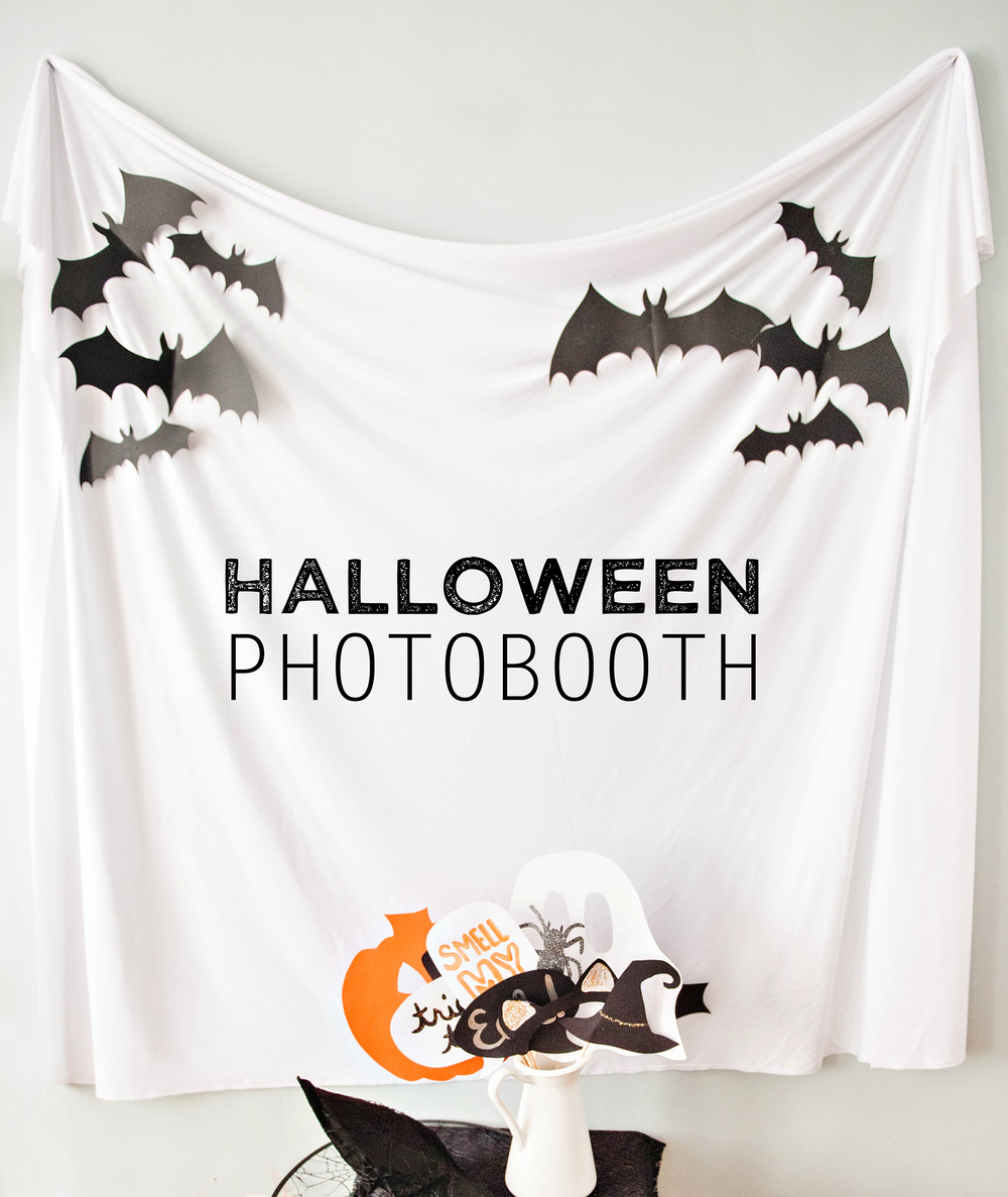 Halloween DIY Photo Booth