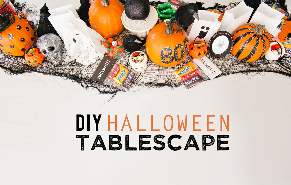 DIY Halloween Table Decor
