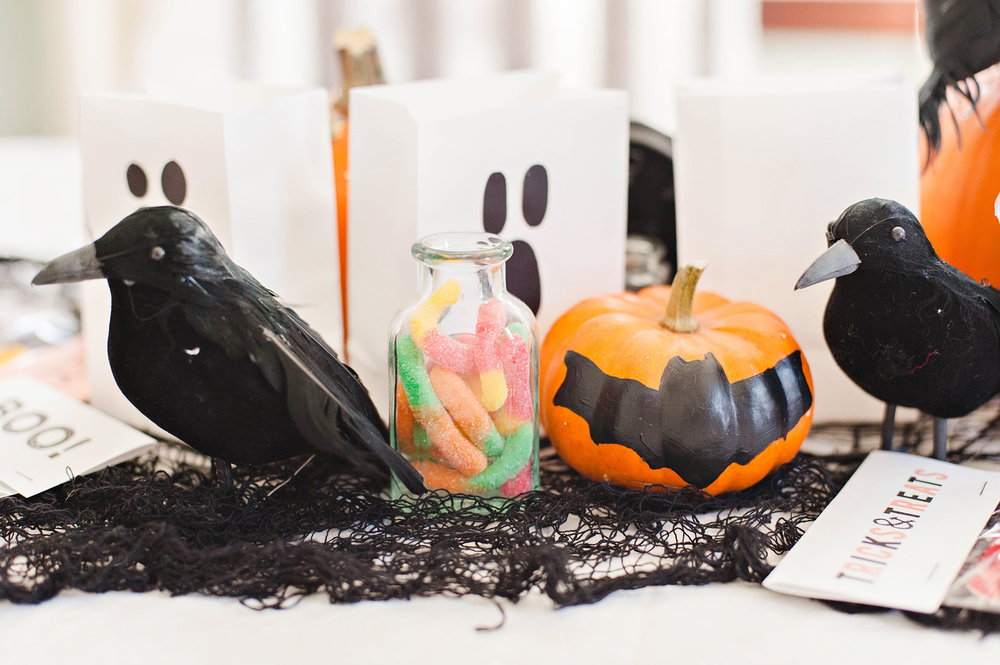 DIY Halloween Table Decor Party