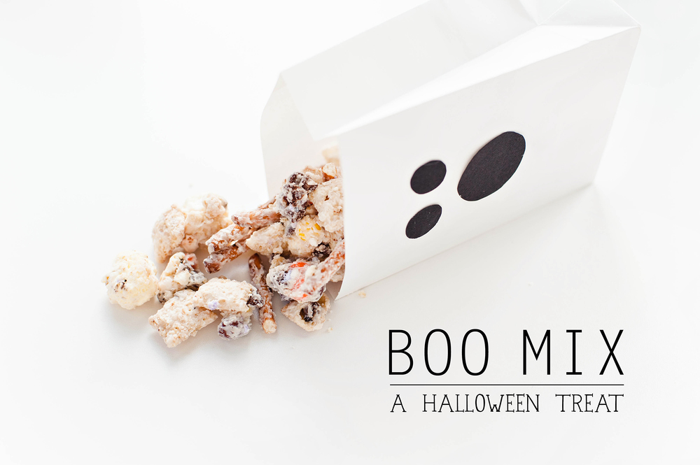 Halloween BOO Chex Mix Recipe