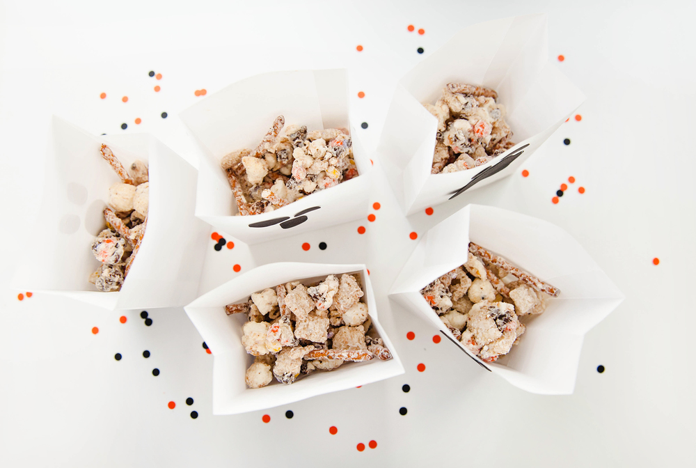 Halloween Chex Mix Recipe BOO Mix