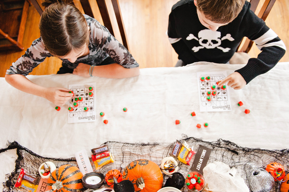 Free Printable Halloween Bingo Cards