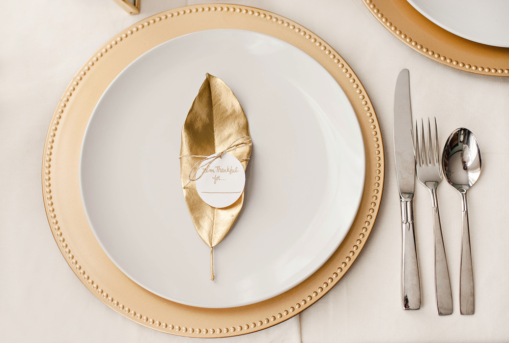 DIY Thanksgiving Place Setting Table Tags
