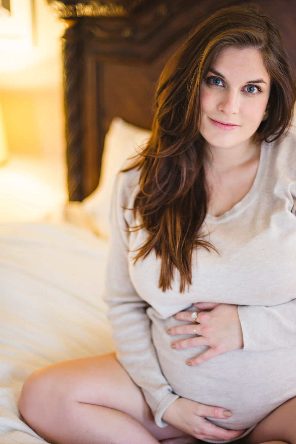 Boudoir Maternity Shoot Pregnancy