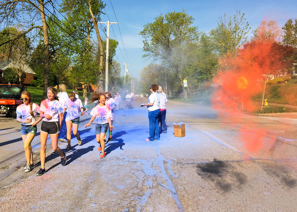 Quincy, IL Photographer Color Run