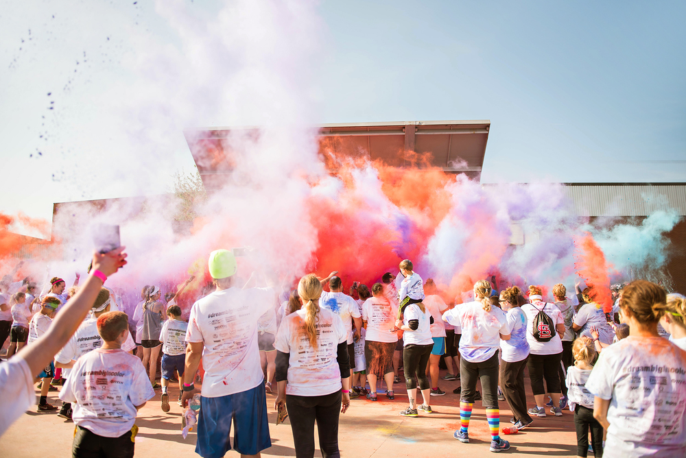Quincy, IL Dream Big in Color Fun Run