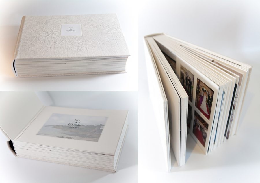 10x14 Duo Album | Ivory Leather Cover | Cover Motif