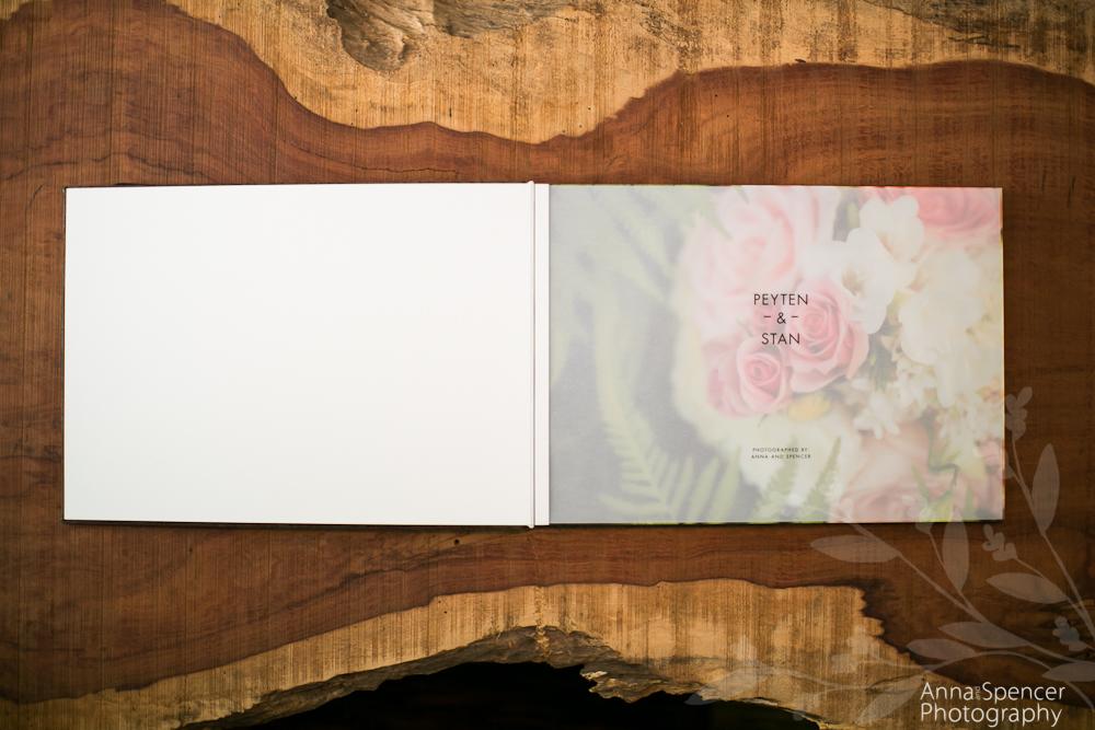 10x14 Album (transclucent title page)