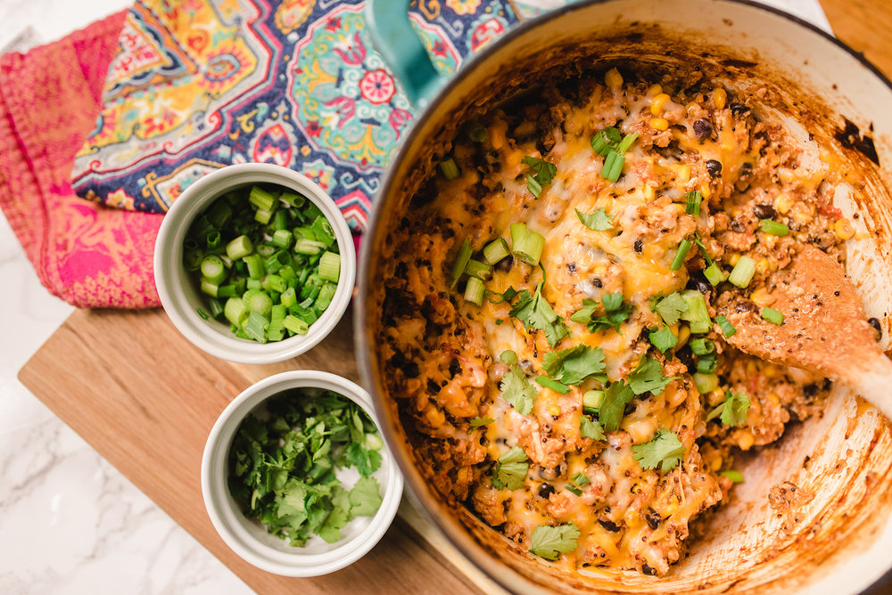 Healthy Mexican Quinoa Casserole Recipe