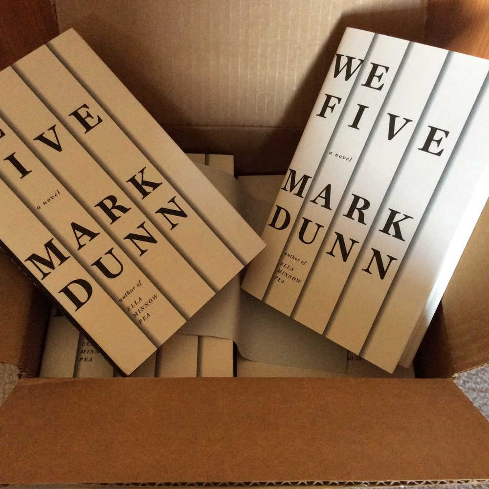 Arrival of We Five books.
