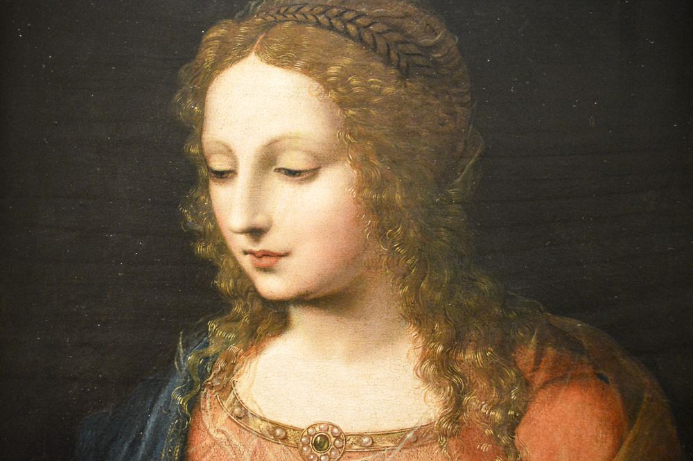 A Woman, early 1500s, Bernardino Luini, Italian, oil on panel