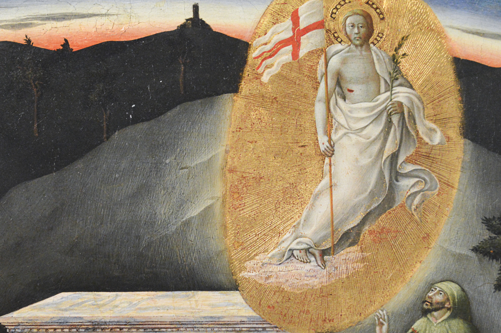 The Resurrection, about 1440-45, Master of the Osservanza, Italian, tempera on panel