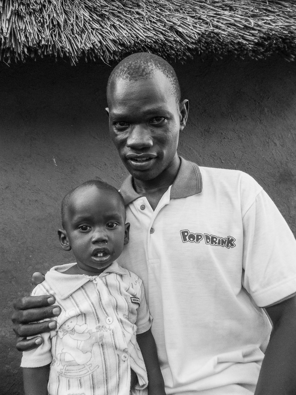 Makonis Billi and his son Petero