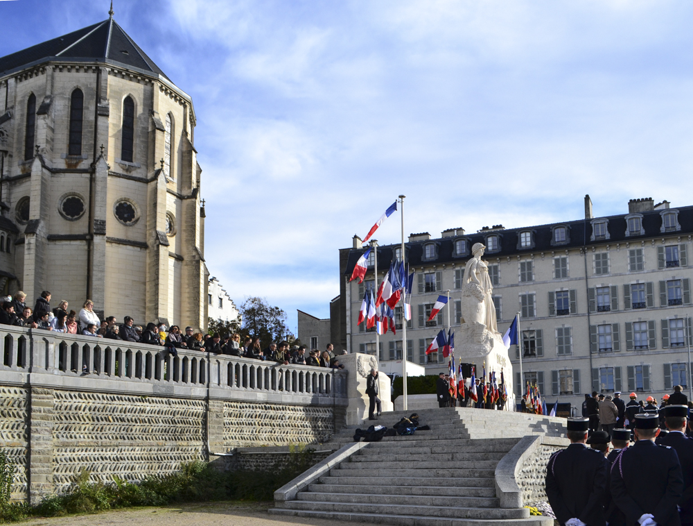 Pau's WWI commemoration ceremony on November 11, 2018.