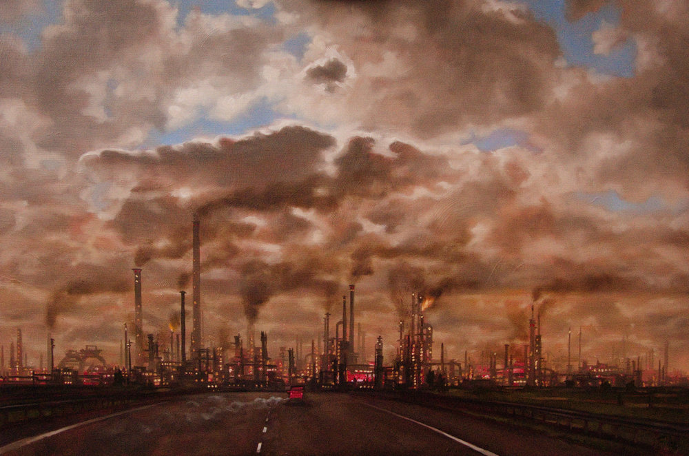 Polluted Landscape