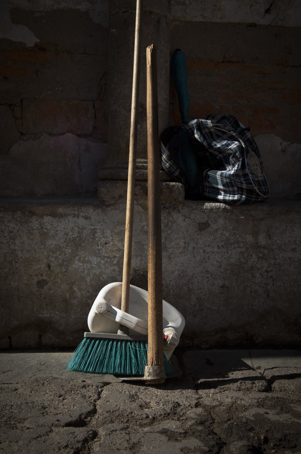 Beauty in the Mundane #2, Caretaker's Broom