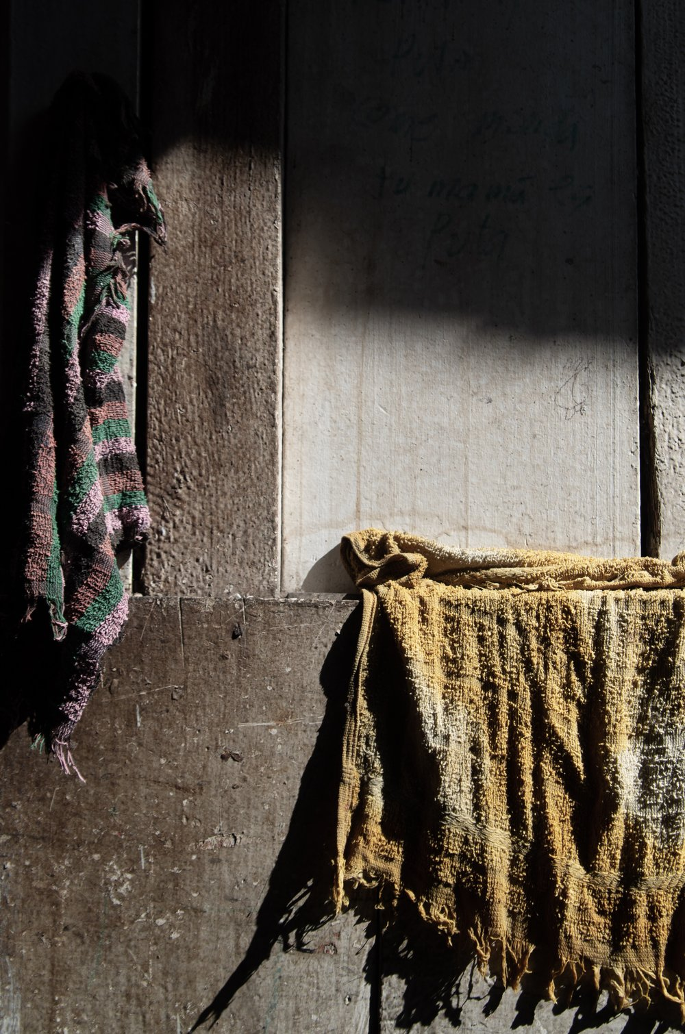 Beauty in the Mundane #1, Old Dish Cloths
