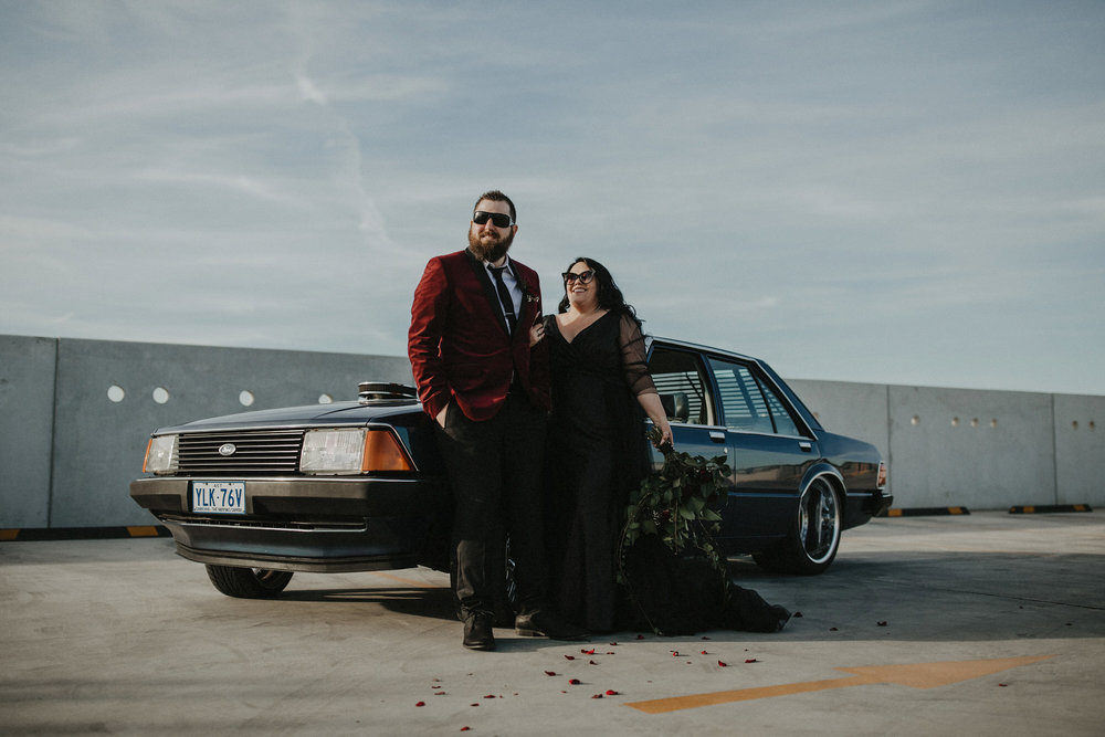 kaija & david     {friday the 13th wedding}