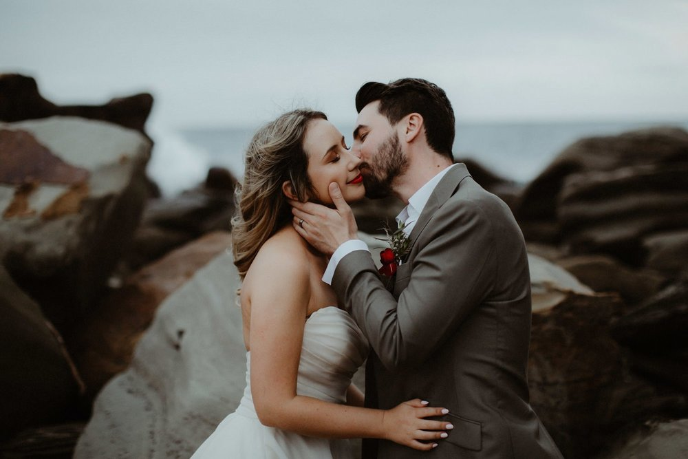 Alysia & Simon - The Forest Chapel, Terrigal