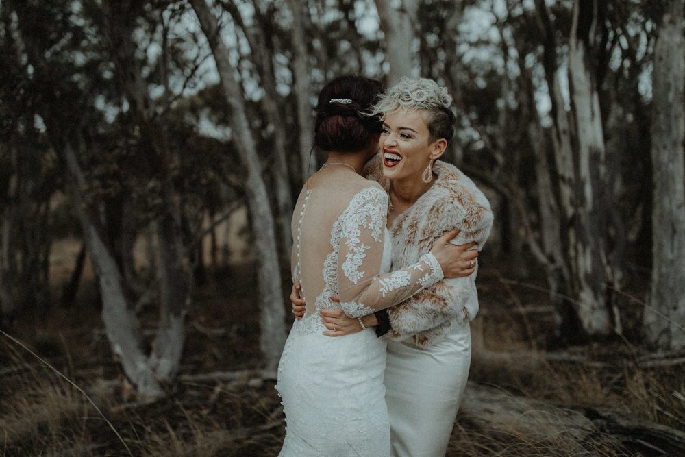 Teagan & Mikayla - Contentious Character Wedding