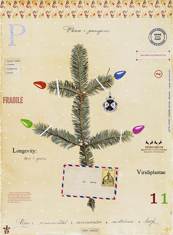 Christmas Tree - 24x18