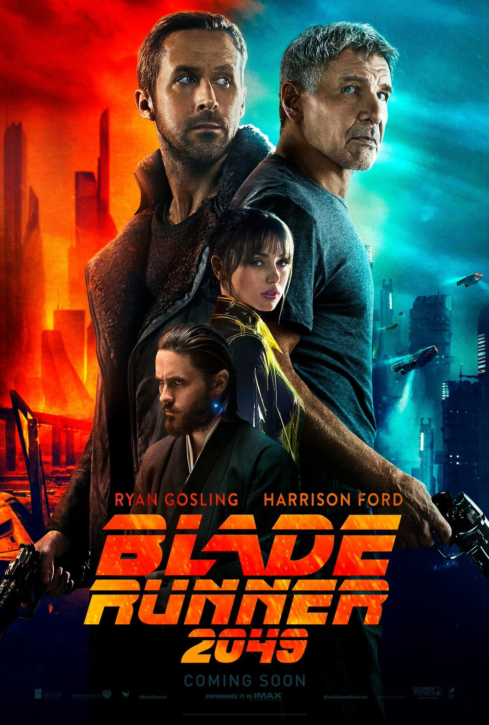2. Blade Runner 2049 -Did we need two? Wasn't one enough? We sure don't think so