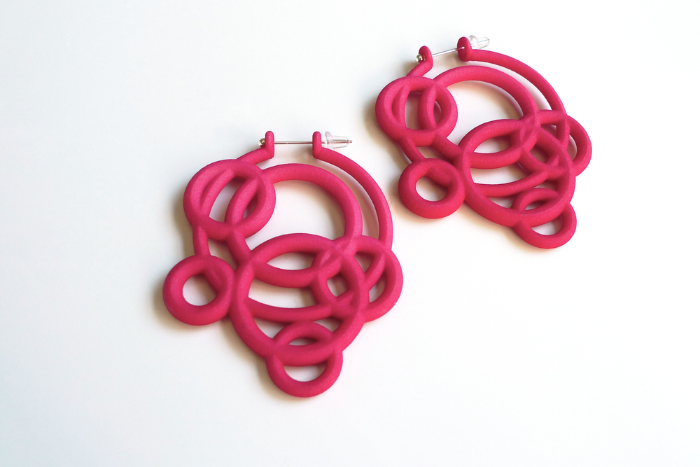 Loop Hoop Earrings