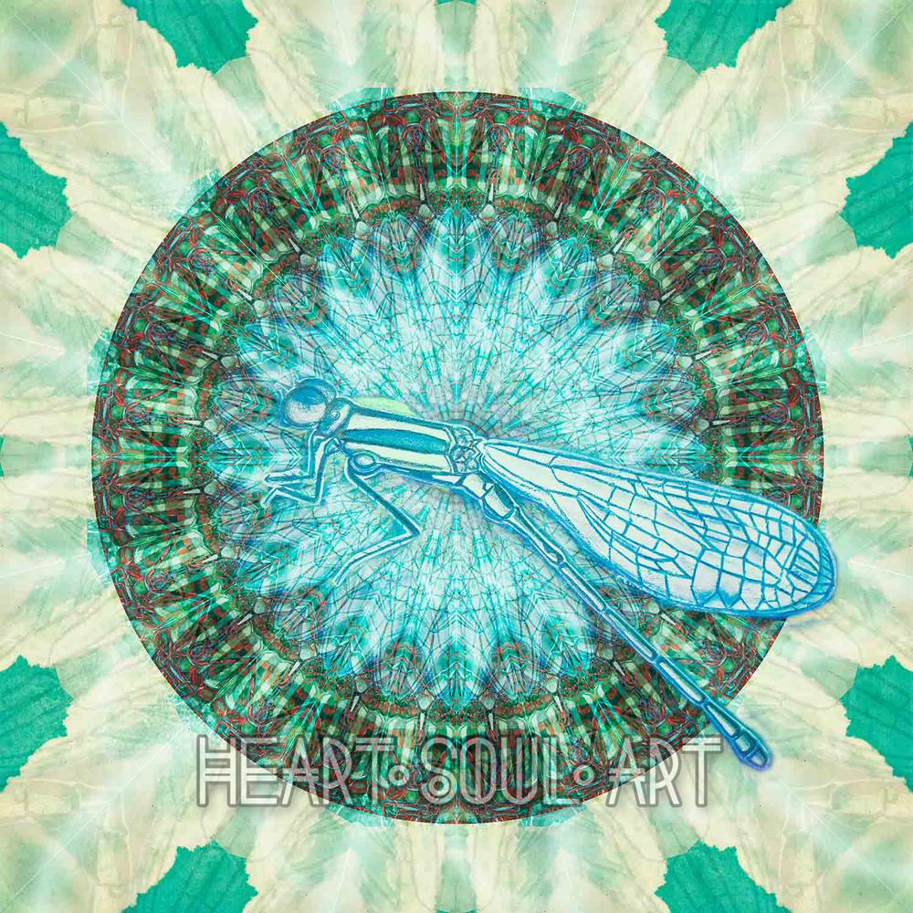 Dave Dragonfly Mandala