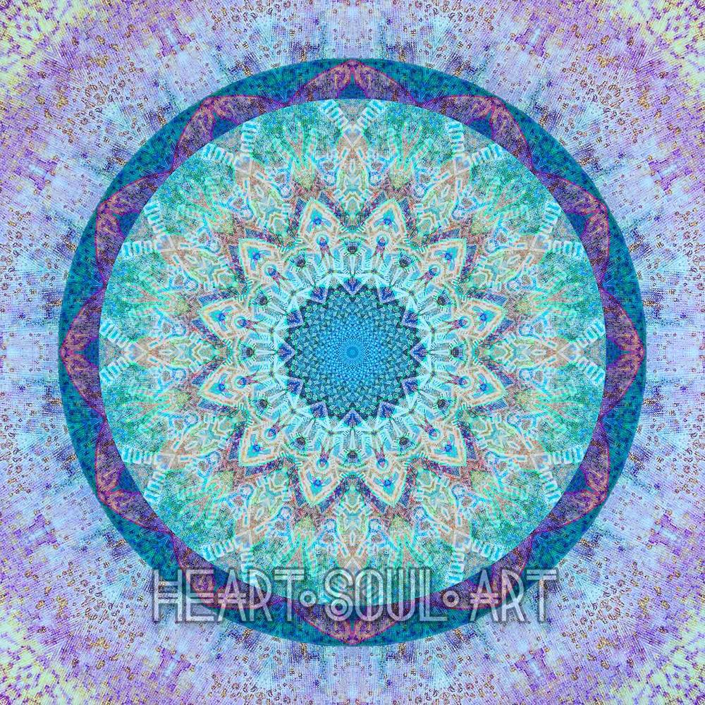 Lotus Divinity Inner Circle Mandala