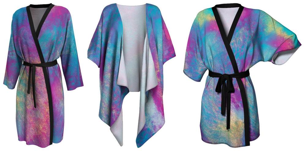 Whimsical Kimonos -