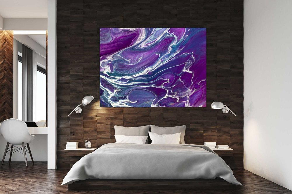 Gold Dragon Purple