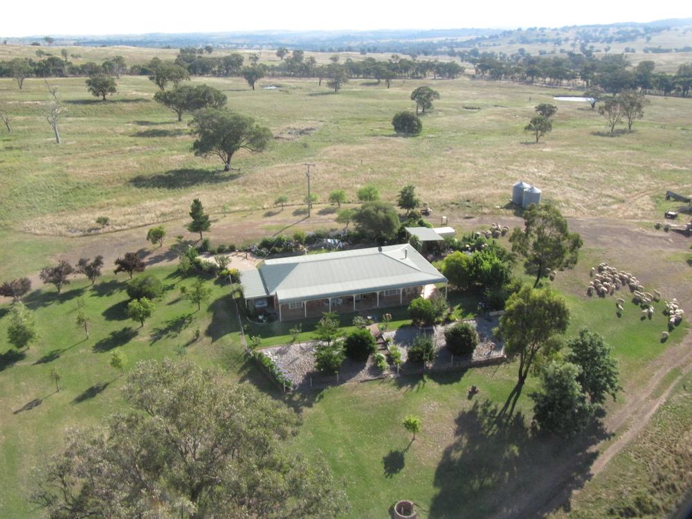 farmland aerial