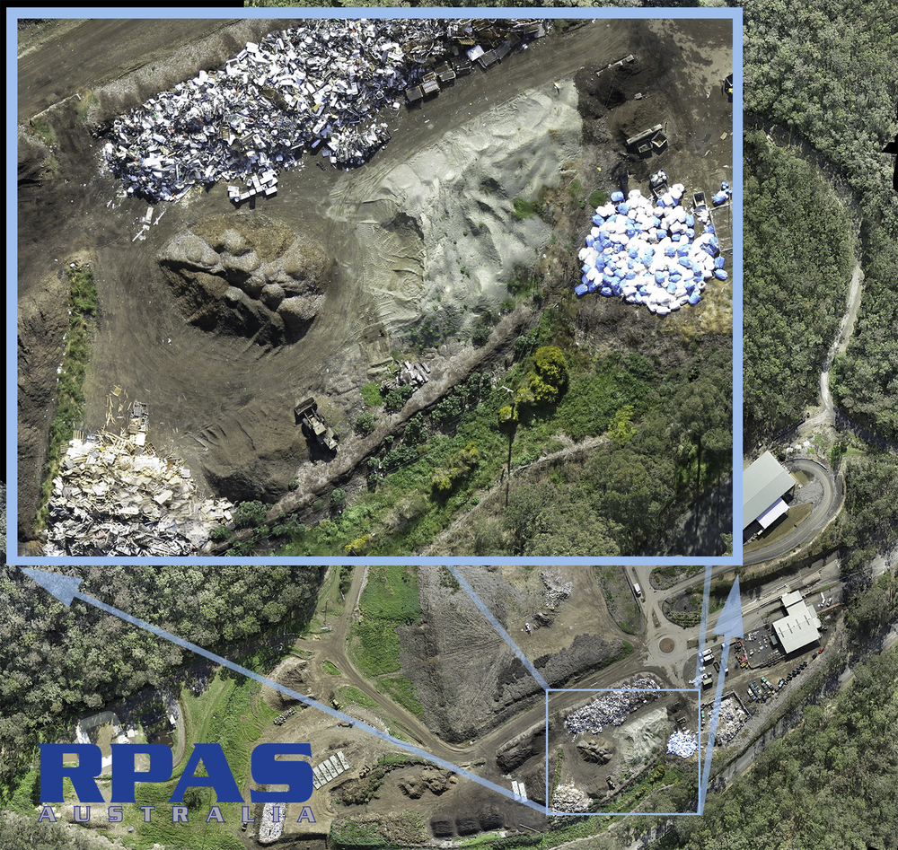 Remotely Piloted Aircraft (RPA) provide high resolution aerial imagery, useful for multiple purposes after the survey has been completed.
