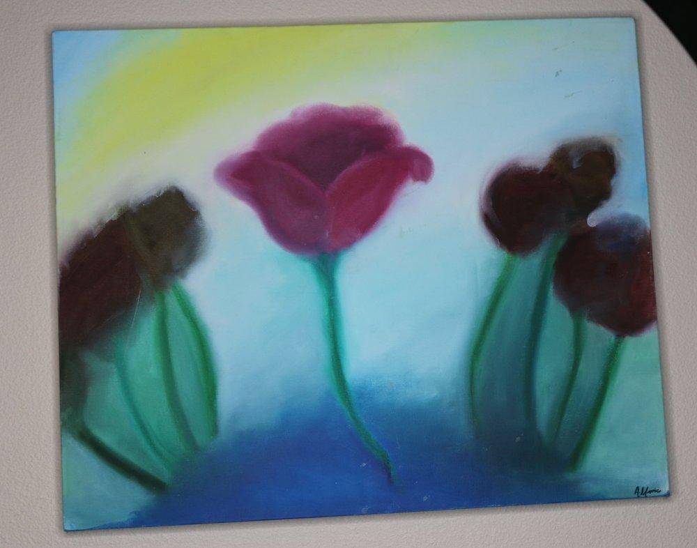 """In Bloom"" M: Oil | $185"